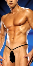 Male Power G-String with Front Ring