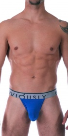 Obviously Chromatic Low Rise Thong with Anatomical Pouch