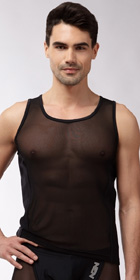 N2N Bodywear Sheer Tank Top
