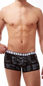 Diesel More Kaos Shawn Boxer Briefs