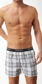 Diesel Plaid Boxer Short