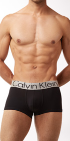 Calvin Klein Steel Microfiber Low Rise Trunks
