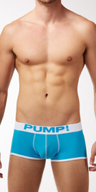 PUMP! Neon Fuel Blue Boxers