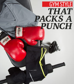 Gym Style That Packs a Punch