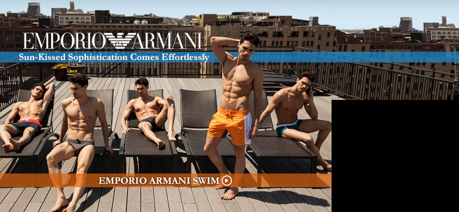 NEW Emporio Armani Swimwear