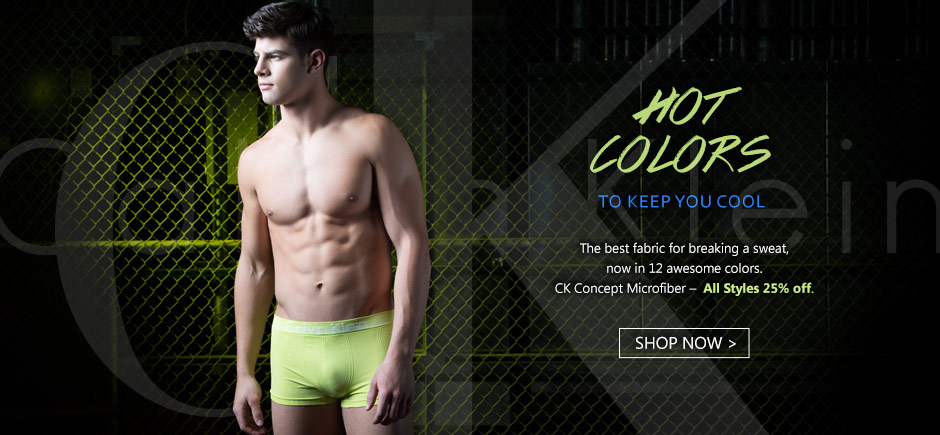 Calvin Klein Concept Microfiber is on Sale!