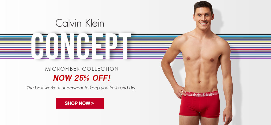Calvin Klein Concept Microfiber is on Sale