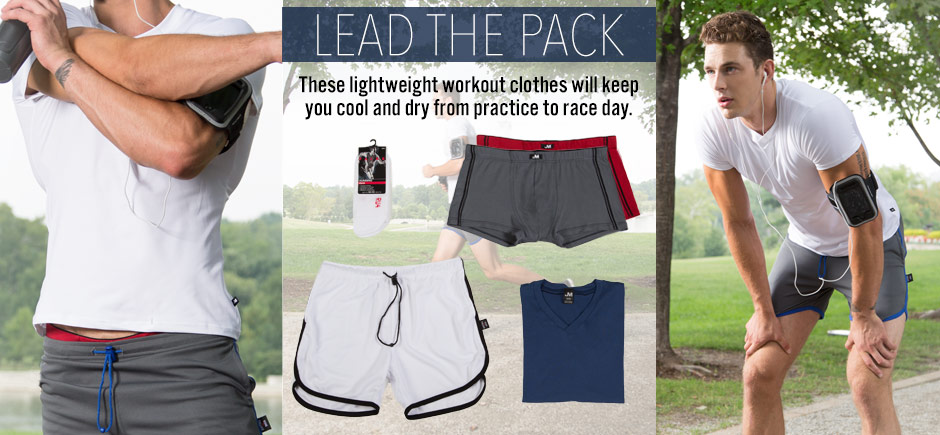 Lead the Pack with Lightweight Workout Clothes