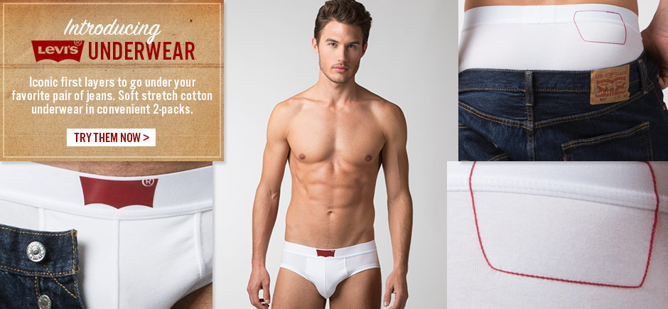 Introducing Levis Underwear