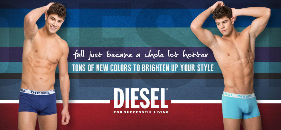 New Diesel Multi-Pack Underwear