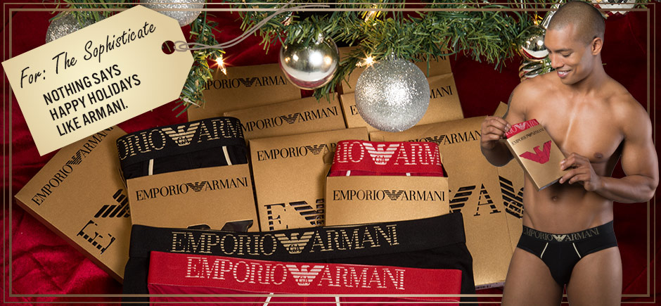 Nothing Says Happy Holidays Like Armani
