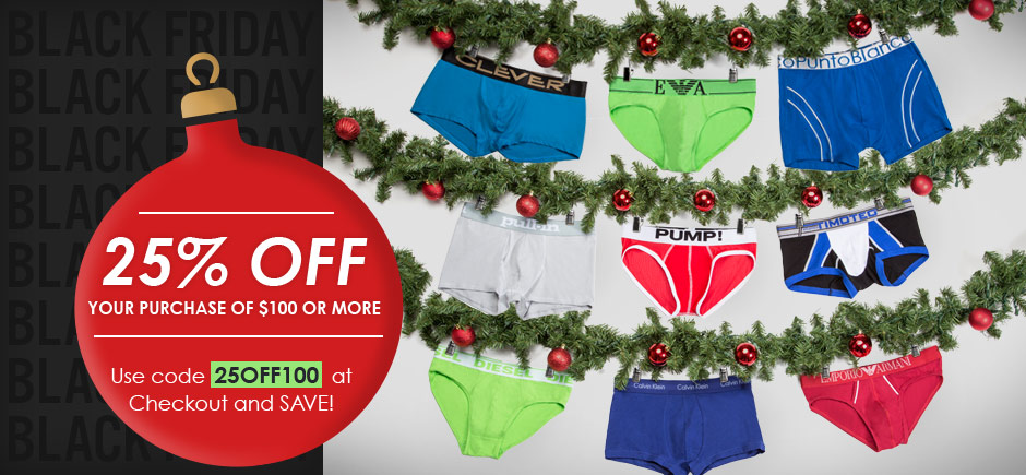 25% Off Your Purchase of $100 or More!