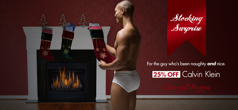 All Calvin Klein is Now 25% off!