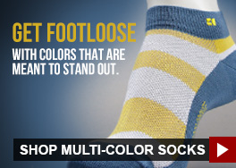 Get footloose with colors that are meant to stand out.