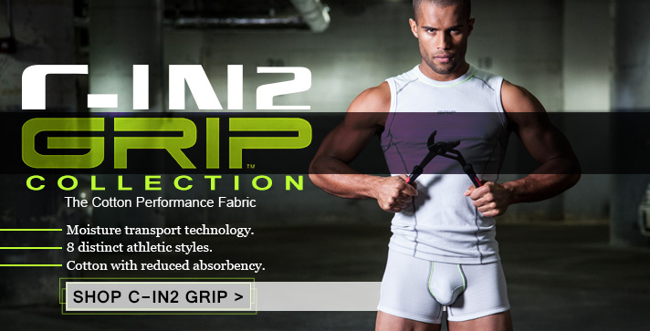 C-IN2 Grip Collection. The cotton performance fabric.