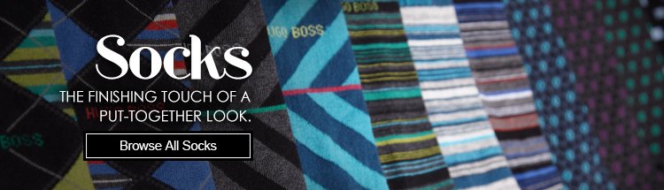 Socks - The finishing touch of a put-together look.