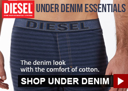 Diesel Under Denim Essentials - The denim look with the comfort of cotton