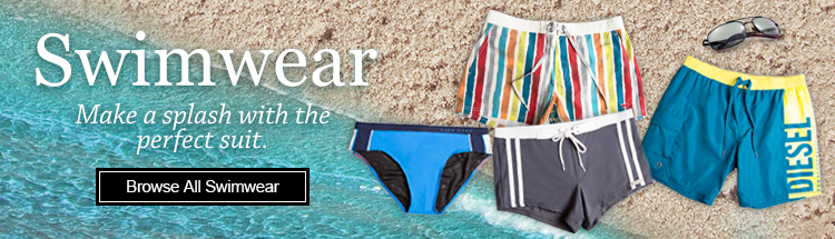 Swimwear. Make a splash with the perfect suit.
