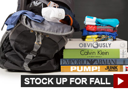 Stock Up For Fall