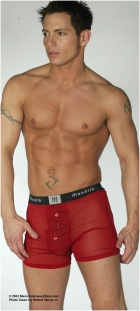 ManSilk Gauze Boxer Brief