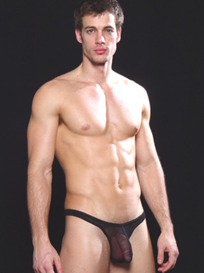 N2N Bodywear Net Thong