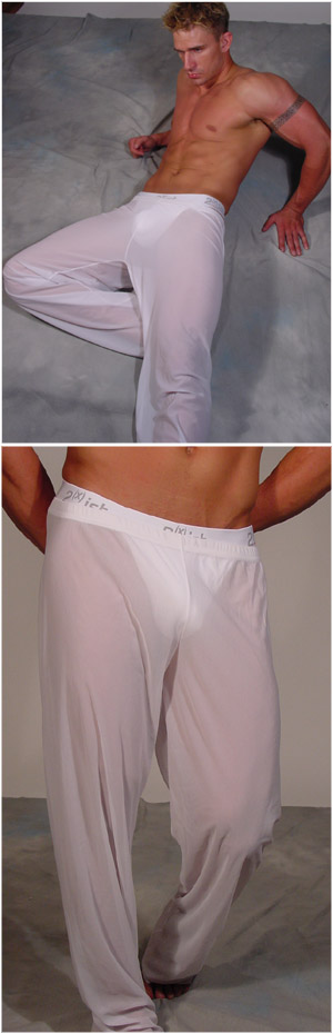 N2N Bodywear Sheer Lounge Pants