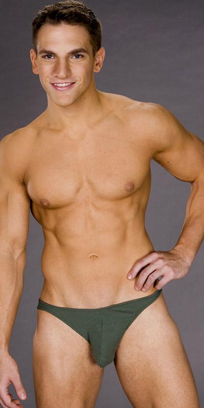 Male Power Rib Cotton Bikini