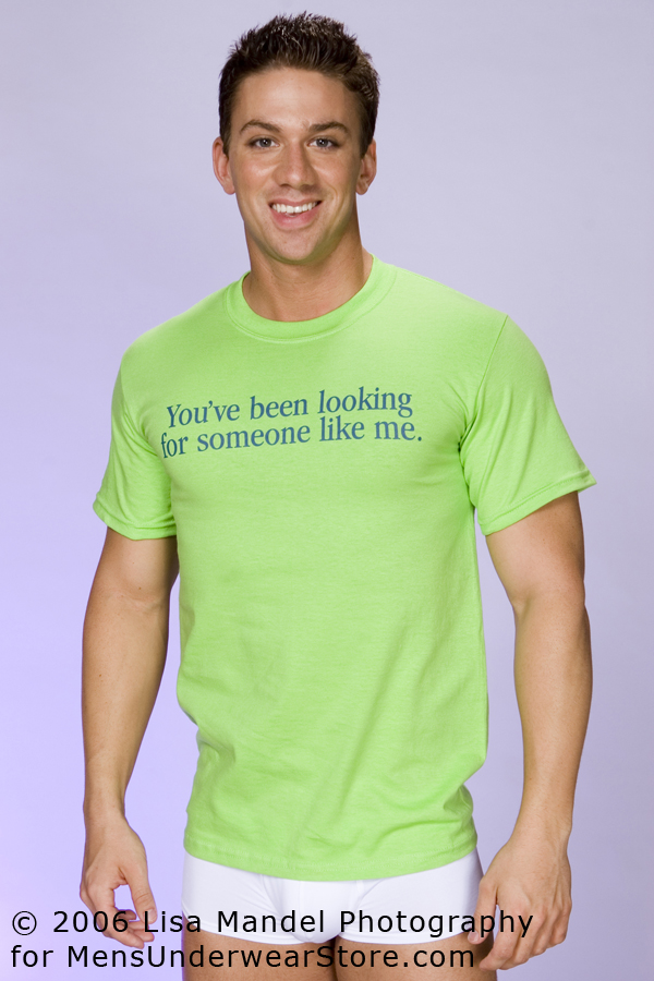 Tucci You've Been Looking For Someone Like Me T-Shirt