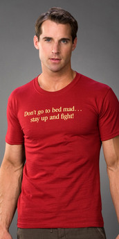 Tucci Don't Go To Bed Mad T-Shirt