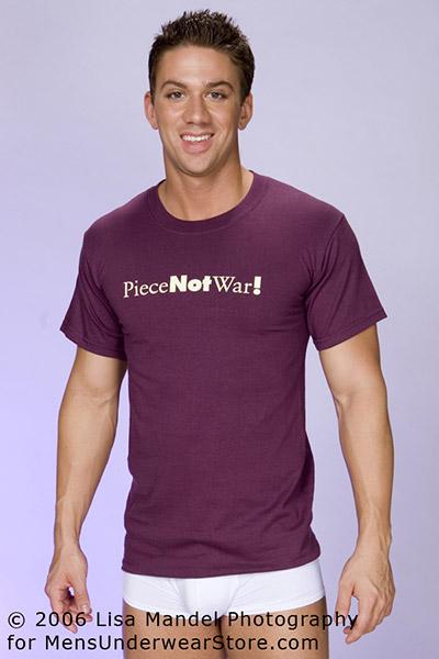 Tucci Piece Not War T-Shirt