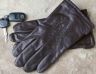 Milwaukee Glove Company Brown Cowhide Dress Gloves