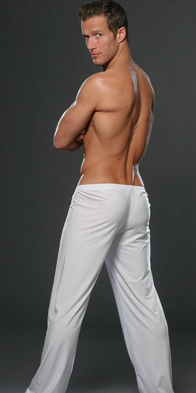 N2N Bodywear Brushed Tactel Lounge Pants