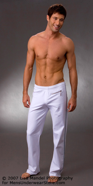 Sauvage Zipper Tactel Workout Pant