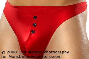 Male Power E-Z Access Button Thong