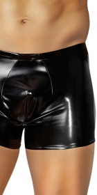Male Power Metallic Pouch Short