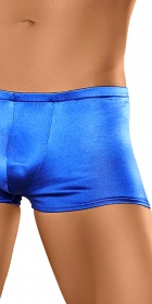 Male Power Satin Lycra Low Rise Short