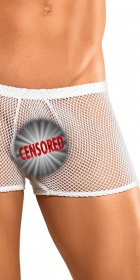 Male Power Stretch Net Pouch Short
