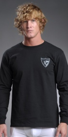 Tucci Logo Shield Long Sleeve T-Shirt