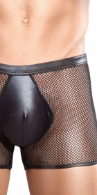 Male Power Extreme Stretch Net Pouch Short