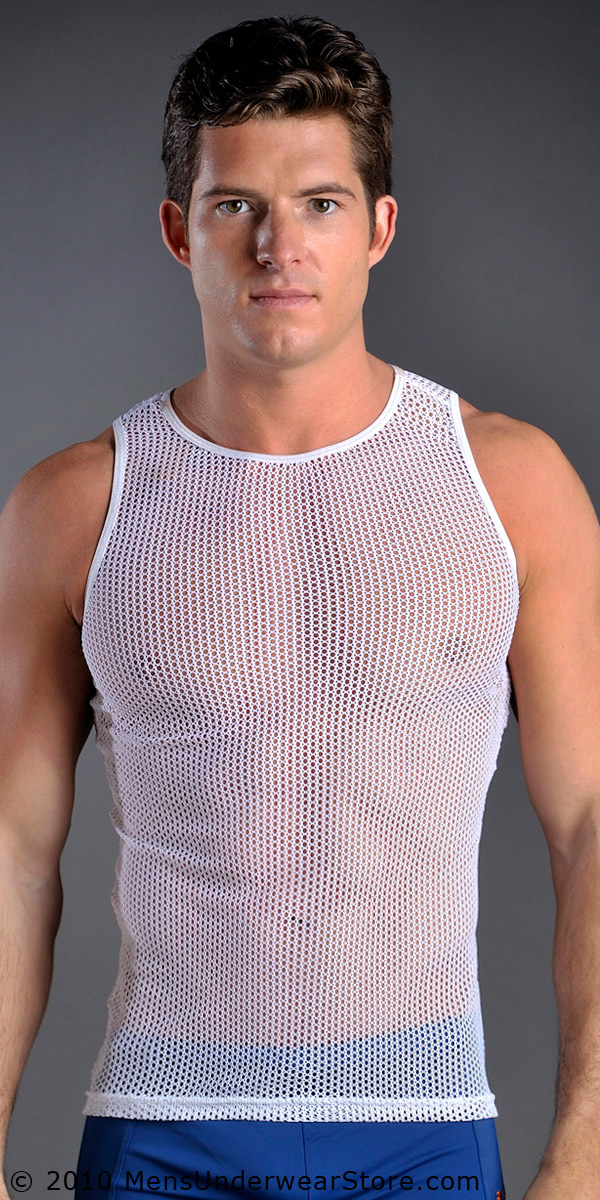 Go Softwear Euro Mesh Tank Top