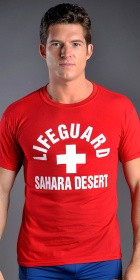 Tucci Sahara Desert Lifeguard T-Shirt
