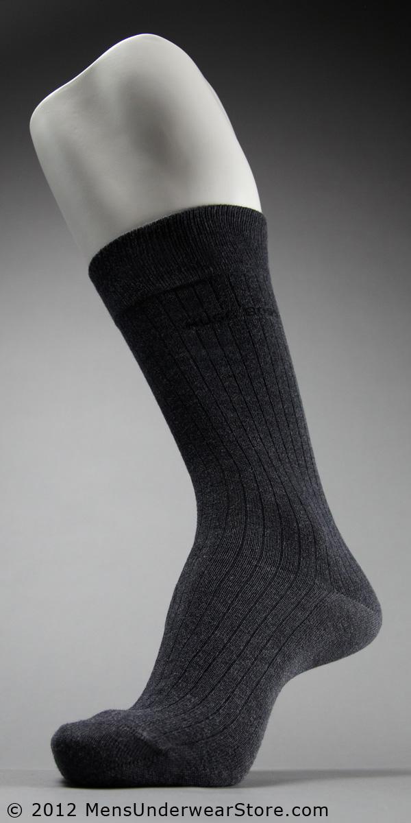 HUGO BOSS Ribbed Dress Sock
