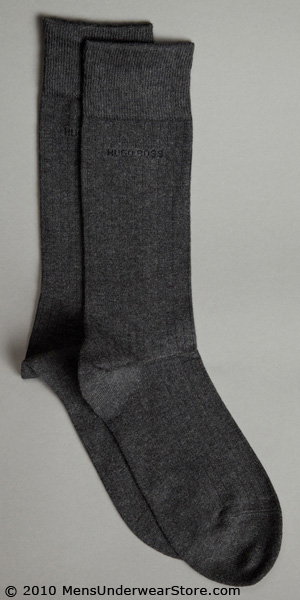 HUGO BOSS Ribbed Dress Sock