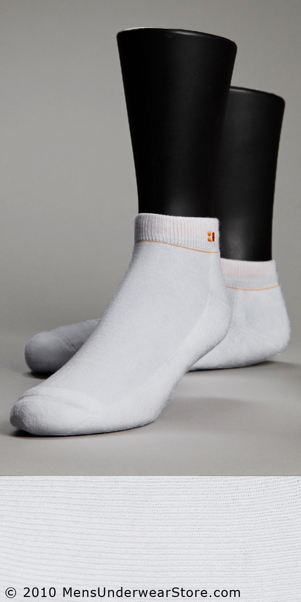 HUGO BOSS Curt Quarter Sock w/ Cushioned Sole