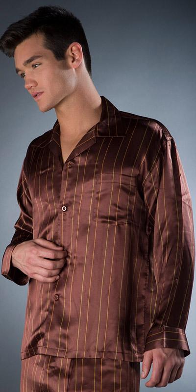 ManSilk Satin Pajama Set