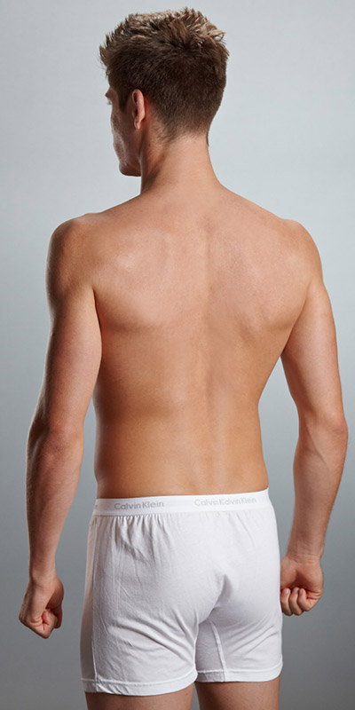 Calvin Klein Matrix Slim Fit Knit Boxers