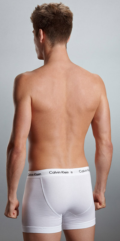 Calvin Klein Cotton Stretch 2-Pack Trunks