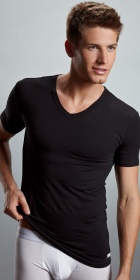 Calvin Klein Cotton Stretch V-Neck T-Shirt 2-Pack