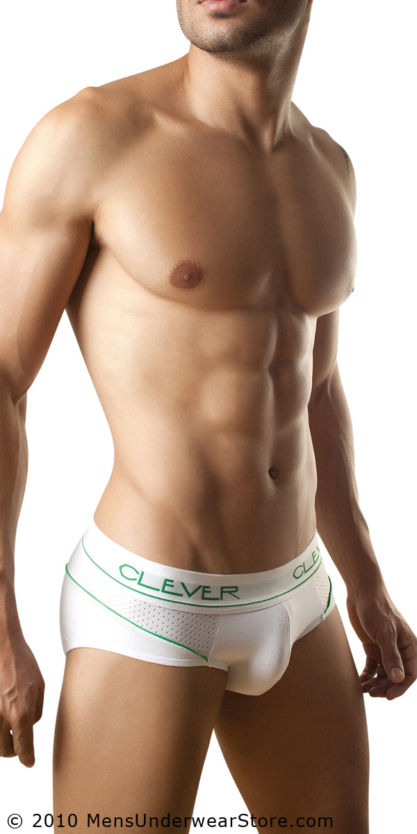 Clever Cotton Mesh Brief