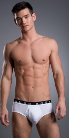 HUGO BOSS Performance Traditional Brief